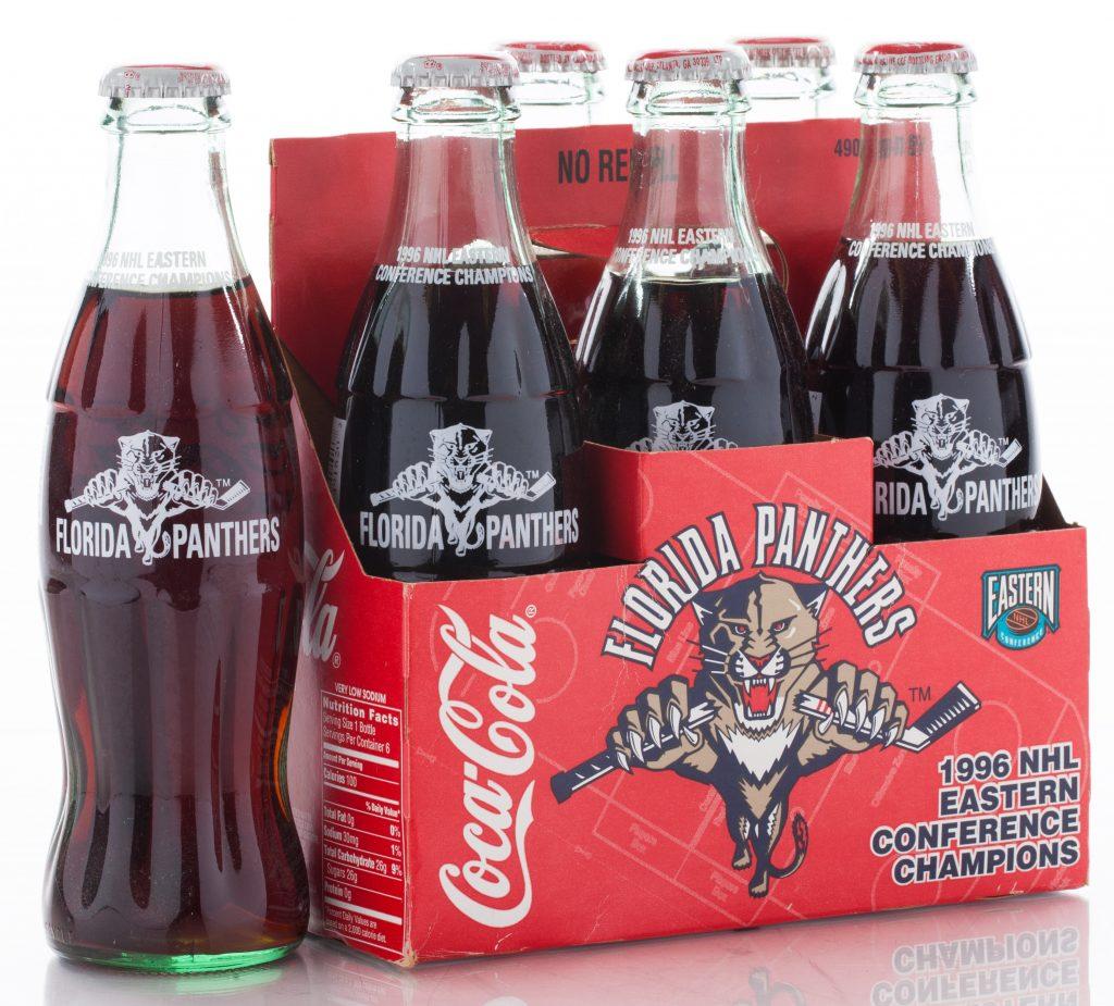 1996 EASTERN CONFERENCE COKE BOTTLES - Florida Panthers ...