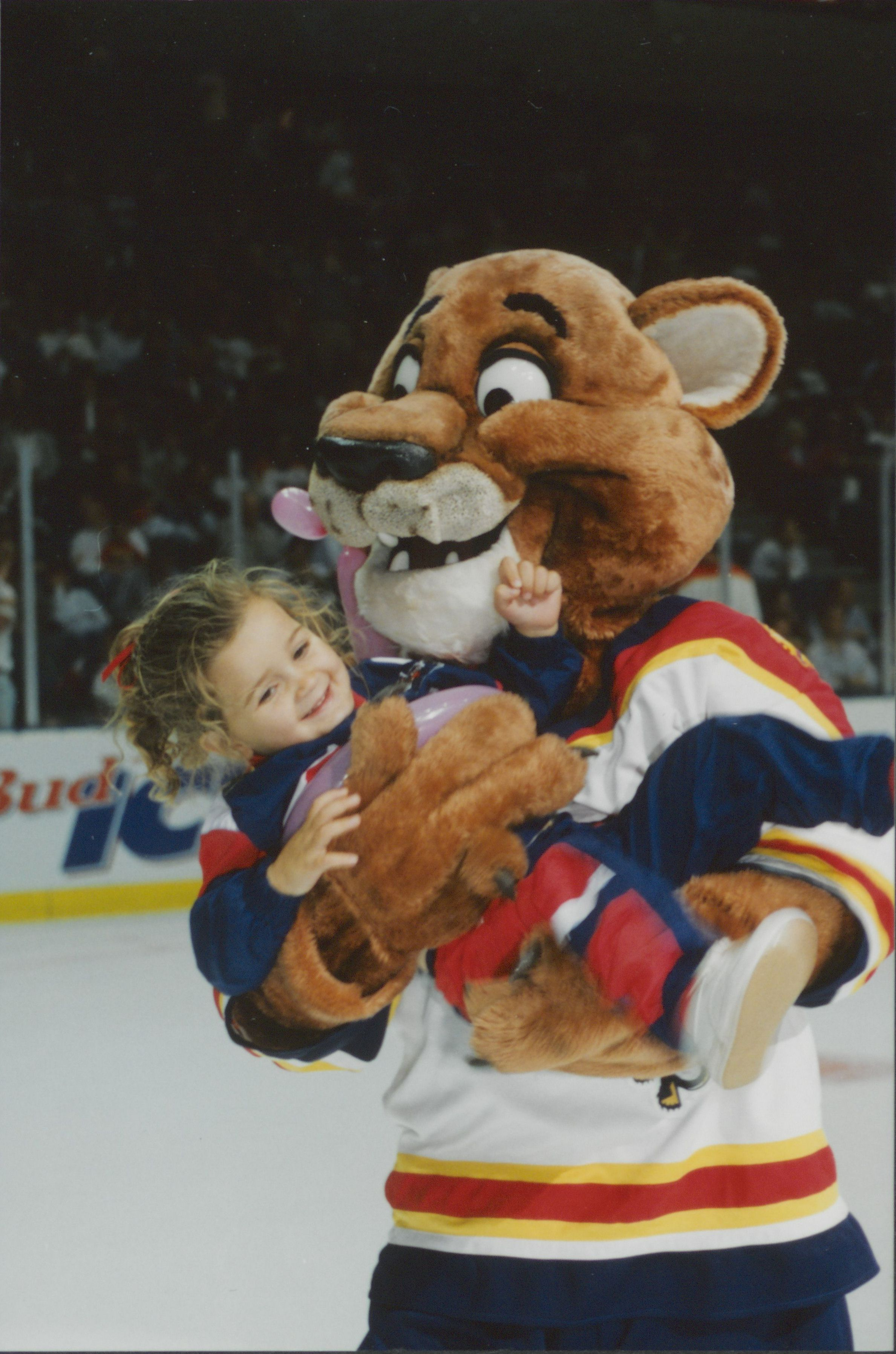 STANLEY C. PANTHER GIVES FAN A LIFT, 1990s - Florida ...